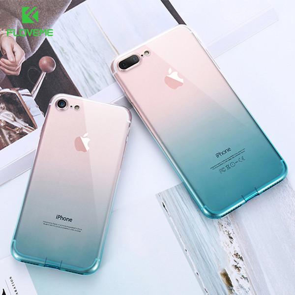 IPhone 6 6 S 7 8 Artı Ultra İnce Kılıflar iPhone için X XS Max XR Temizle TPU Telefon Kılıfı iPhone
