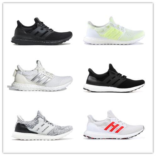 Acheter Adidas Ultra Boost Ub 4.0 2019, Chaussures Homme Et Femme Dorées, Multicolores, Respirantes, Décontractées, Pour La Course À Pied Légère De