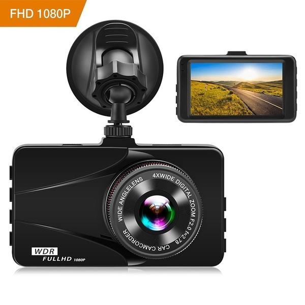 1080 P Full HD Dashboard Kamera 3.0
