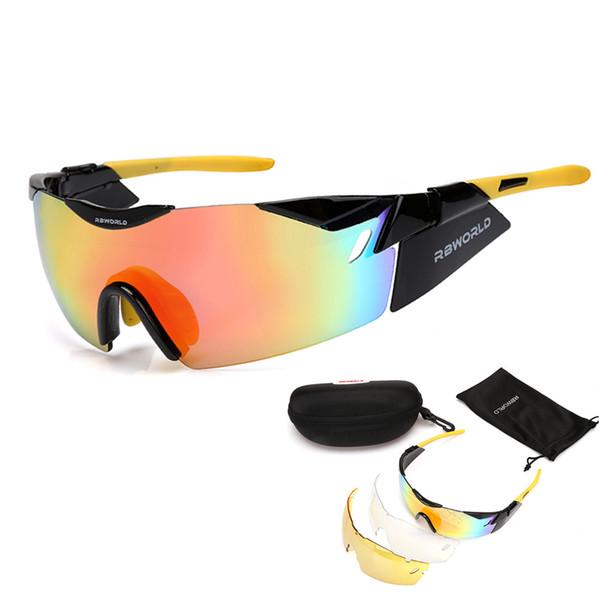Bolle 3 Lens EV Radar TR90 Sports Cycling Glasses Men Women MTB Mountain Road Bike Bicycle Cycling Eyewear Running Sunglasses