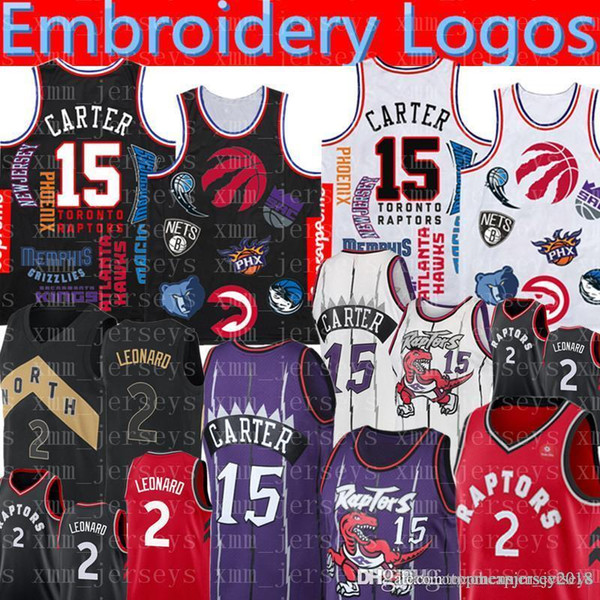 the best attitude 1ccf4 bd4a0 2019 SUP Vince 15 Carter Jersey Toronto Kawhi 2 Leonard Raptors Basketball  Jerseys Mens Retro Mesh Raptors Jersey Embroidery Logos From ...