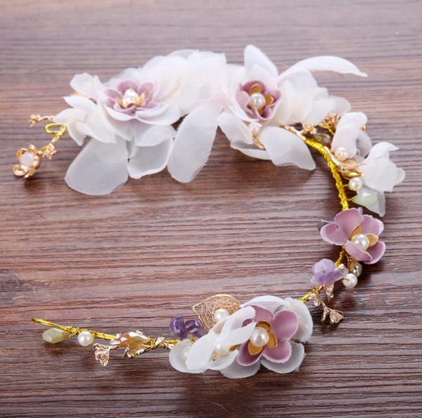 Bridal Bridesmaid Flower Girl Rhinestones Crystal Wedding Tiara Headband 8255