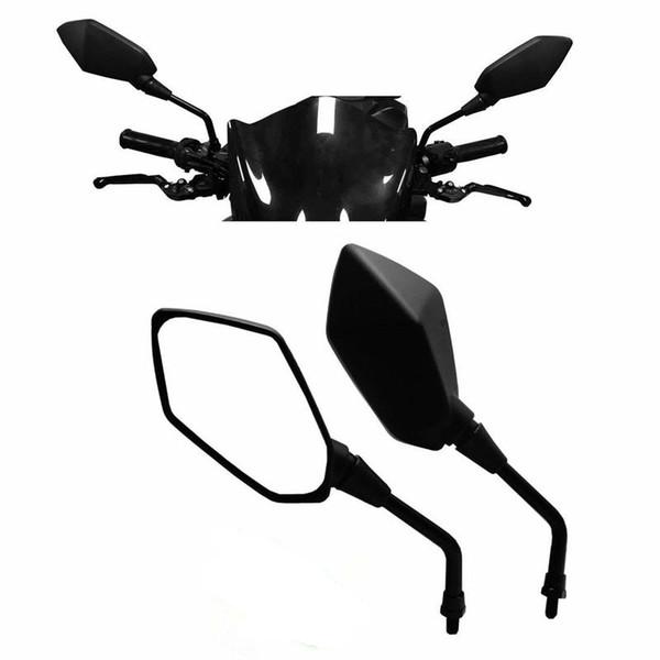 Universale del motociclo Specchi, M8 M10 filettato Bullone per ATV Kawasaki Yamaha Suzuki KTM