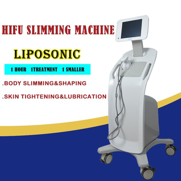 Big promotion! liposonix machine salon use high frequency machine home use ultrasonic energy CE approved free shipment