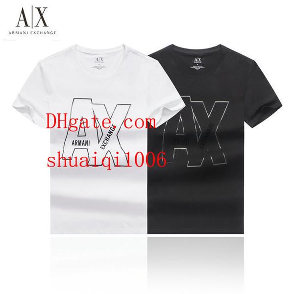 2019 yeni erkek marka t shirt survêtements de marque hommes dökün Tee gömlek homme eşofman Erkek yaz kısa kollu Erkek yaz elbise