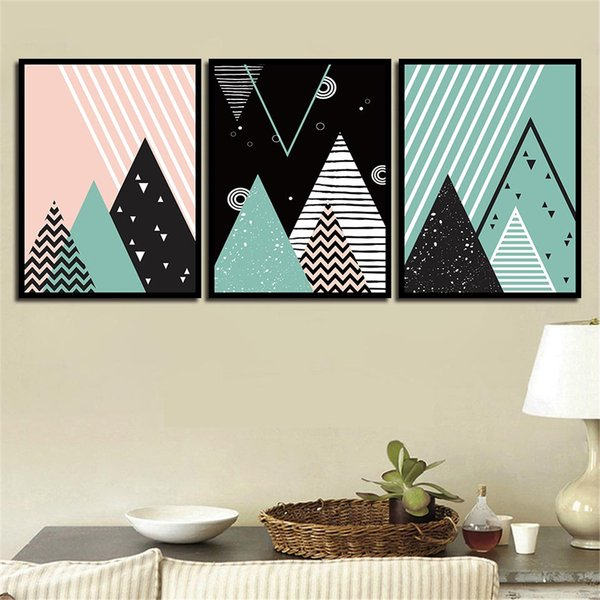 Painting Print HD Picture Abstract Graphics Nordic Watercolor Canvas Poster Wall Art Living Room Bedroom Bedside Home Decor