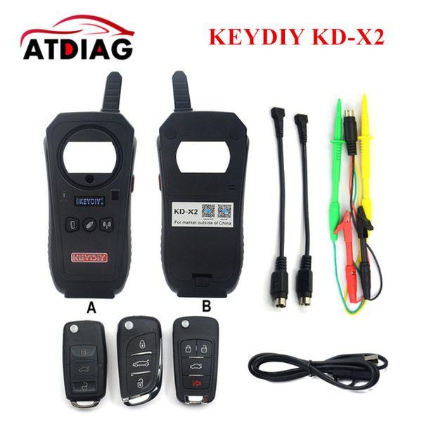 Remote Maker KEYDIY KD-X2 Unlocker and Generator-Transponder Cloning Device with 96bit 48 Transponder Copy Function No Tokens