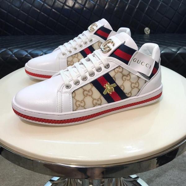 Top Luxury Fashion Designer Schuhe Herren Damen Snake ACE Echtes Leder Designer Sneakers Beste Geschenk flache Stiefel bequeme Freizeitschuhe