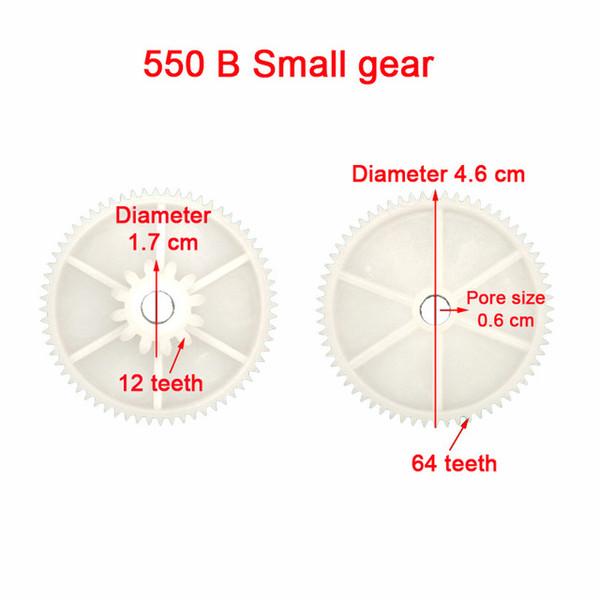 B 550 Small gear