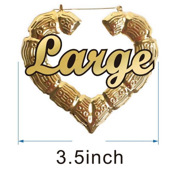 3.5inch قلب الذهب