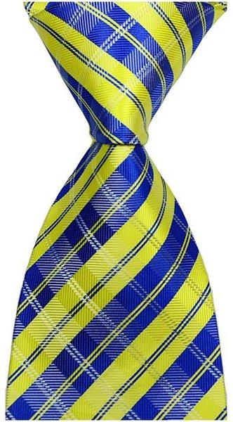 Assegni a strisce giallo / blu