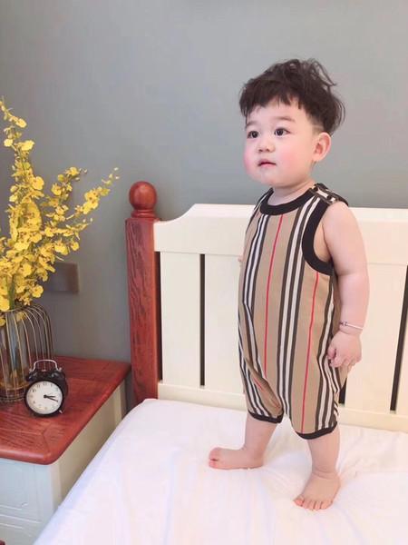 New Style Baby Pagliaccetti Summer Powered Baby Boy Girl Abbigliamento neonato manica corta vestiti 6 mesi-3 anni