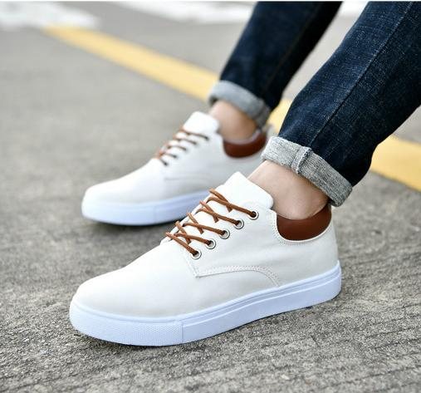 2019 zapatos casuales Todo-fósforo de peso ligero, hombres zapatillas de deporte del monopatín deporte al aire libre cómodo y transpirable des chaussures 29