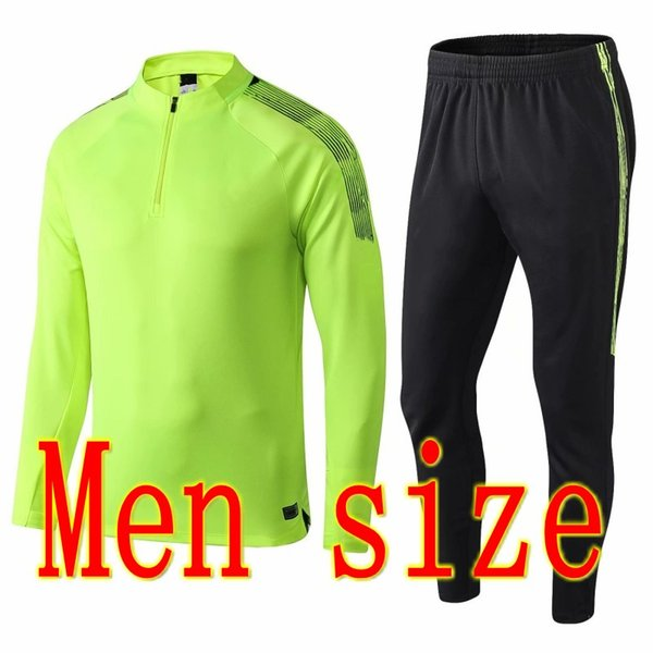 men size green
