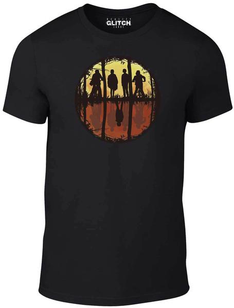 aaa19a0d0 Men's Stranger Mirror T-Shirt - Inspired by Stranger Things TV Netflix  Hawkins fan pants t shirt