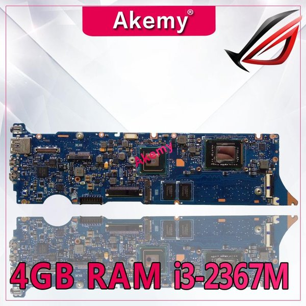 Akemy UX31E Laptop motherboard for ASUS UX31E UX31 Test original mainboard 4G RAM I3-2367M