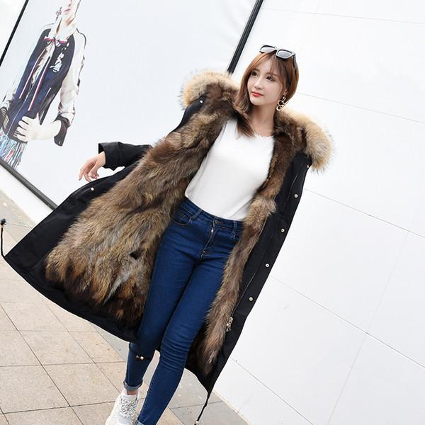 Mensyaz tavşan Kürk Jile Yelek Ceket Kaban Yelek Dış Giyim Jile Kadın Sıcak Jile Dış Giyim Uzun Ince Yelek tavşan Kürk