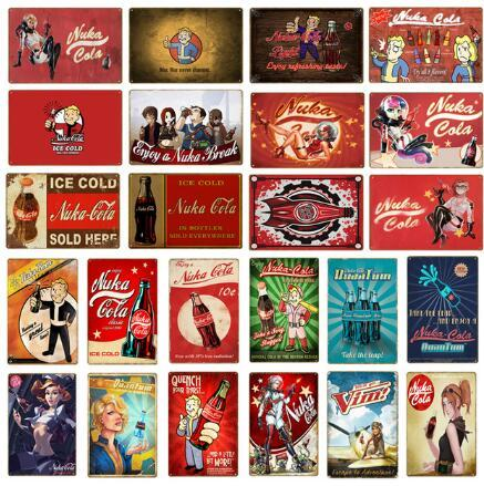 Vintage Metal Tin Signs For Wall Decor Route 66 Cars Sexy Girls Iron Paintings Metal Signs Tin Plate Pub Bar Garage Home Decoration 666