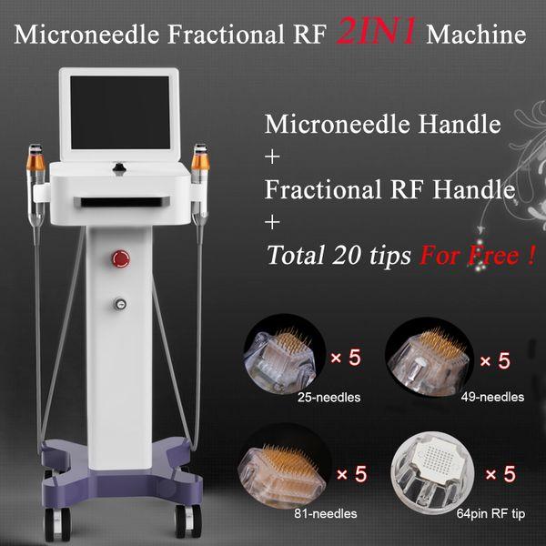 2019 nouveautés de haute qualité rajeunissement professionnel de la peau Thermage Microneedle RF partiel Machine de beauté Thermage Machine