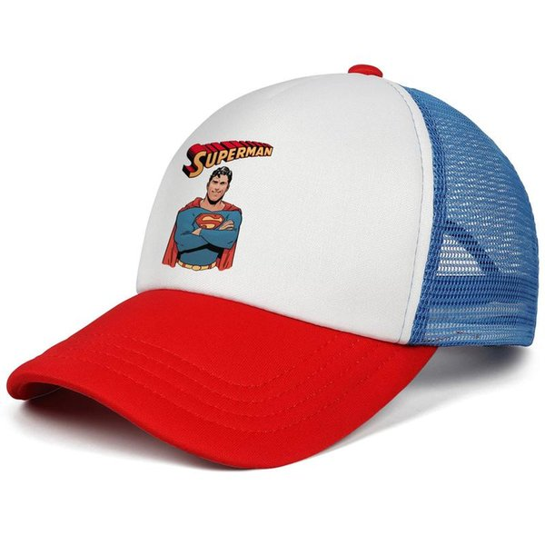 Tumblr superman logo kids baseball caps Vintage Teen baseball cap Blitzing red cap cheap snapbacks hats
