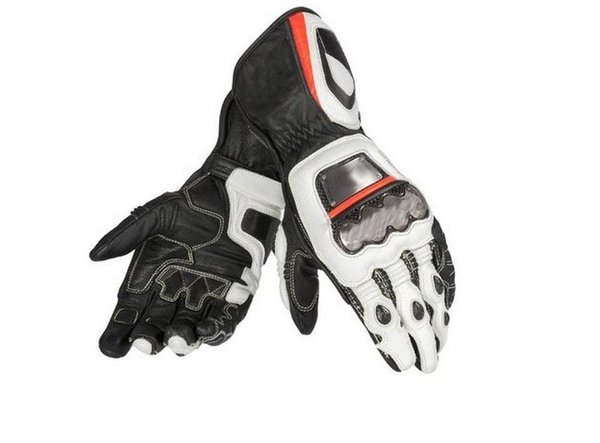 Motorcycle Leather Racing Men's Long Glovers Motocross Off-Road Riding Full Metal Dain D1 Gloves