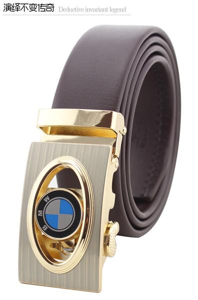 Cintura grande in pelle con fibbia grande designer da uomo e da donna fascia alta cintura da uomo nuova cintura di lusso spedizione gratuita