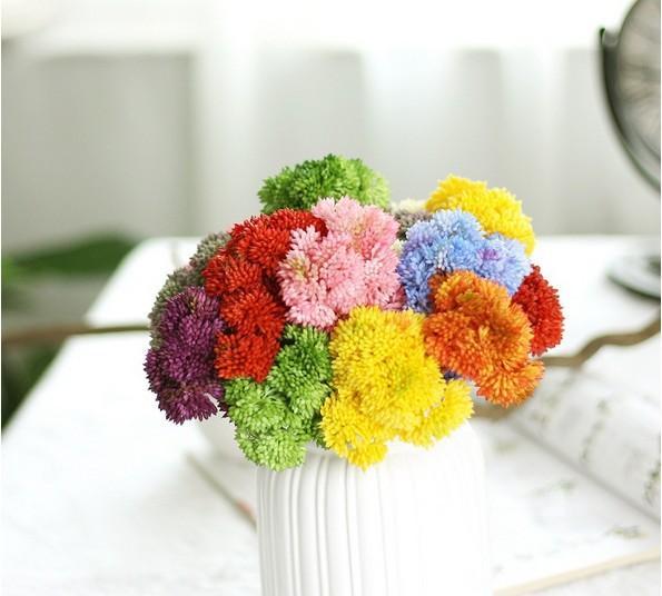 wedding Succulents plants ornaments for Plants Wall artificial plants with vase bonsai Garden Fake Home Floral Decor
