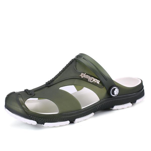 Tamanho Grande Chinelos 2019 Verão New Style HOMENS Sandals antiderrapante Sandals Moda chinelo Loafers