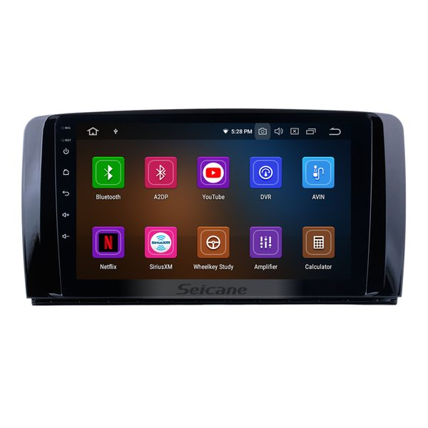 9 Inch OEM Android 9.0 Car GPS Navigation system For 2006-2013 Mercedes Benz R Class with 3G WiFi Bluetooth support TPMS DVR OBDII Car DVD