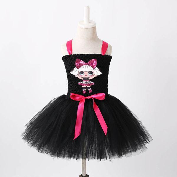 Ins cute Unicorn kids designer girls dresses birthday party girls dress kids Princess Dresses Tutu Skirt Party Dress kids clothes A4092