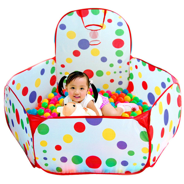 Outdoor Fun Sports Toy Tents Kids House Tent Foldable Children Outdoor Play House Baby Ocean Ball Pit Pool Play Tents Game