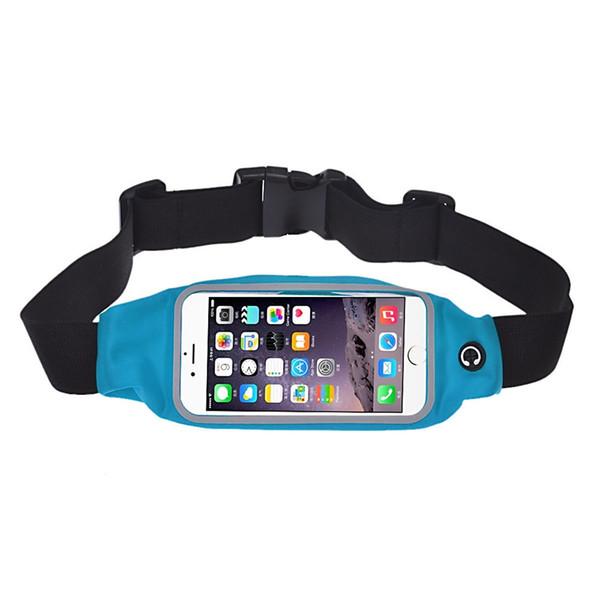 1780c5c6b012 Для мобильных телефонов 6 Plus универсальный спортивный ремень для бега  сумка талии карман чехол 5.5