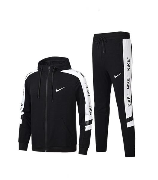Nuevo Chándal HOMBRE MUJER Conjunto de ropa Estampado de letras Casual Manga larga Traje deportivo Trajes Sudadera + Pantalones jhtyuty