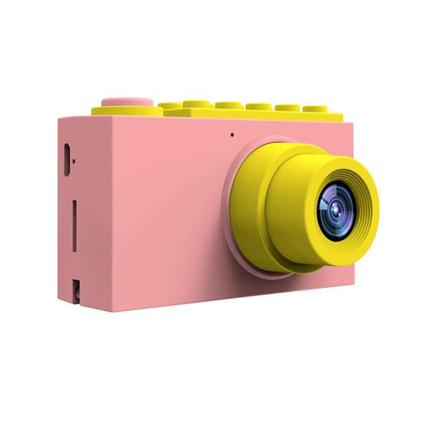 Juguetes para niños pequeños Videocámara Educativo Grabación de video Mini Cámara de fotos digital Fotografía Regalo de cumpleaños Cool Kids Camera para niños