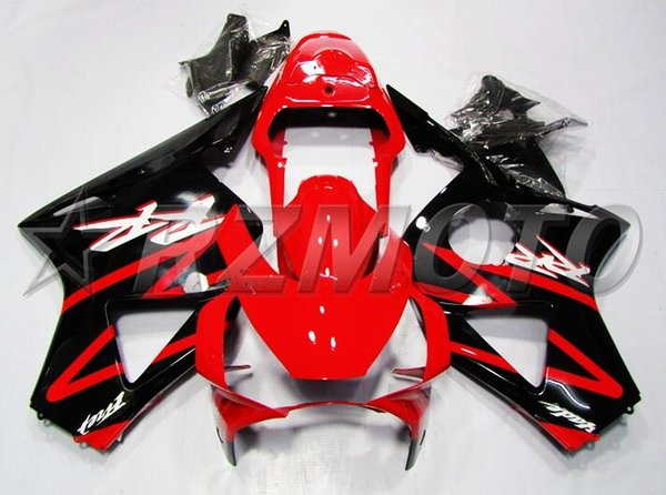 3Gifts New ABS Motorcycle fairings Kit Fit for HONDA CBR954RR CBR900RR 954 02 03 CBR954 2002 2003 bodywork set Fairing red black