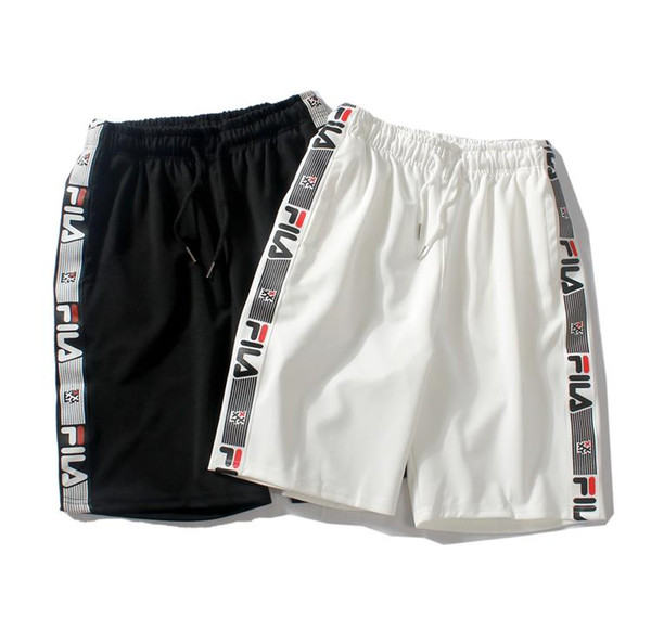 Estate uomo e donna pantaloncini da uomo marea allentata casuale sezione sottile tessitura pantaloni asciugatura rapida pantaloni casual pantaloni cinque pantaloni M-XXL