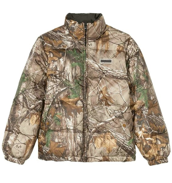 d0f9153ab0d27 18FW REALTREE ELI PUFFER camouflage coat jacket couple warm down jacket men  and women of the