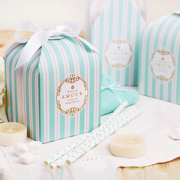Wedding Cookie Boxes Keepsake Box Small Party Favor Boxes Thank You Gift Bags for Wedding Guests