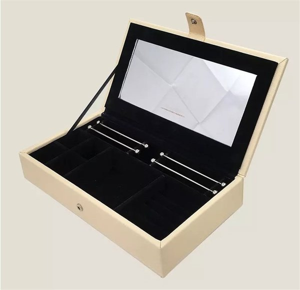 PU leather Jewellery Boxes fits European Pandora Style Charms Beads Pendants Bracelets and Necklaces branded DIY Jewelry Box