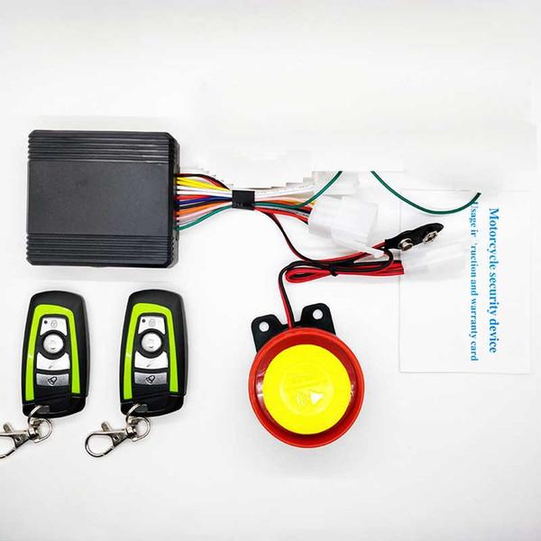 Alarme moto avec moteur de démarrage à distance clé Fob Antivol Système d'alarme de sécurité Alarma Moto 125dB ABS Pour Gorilla