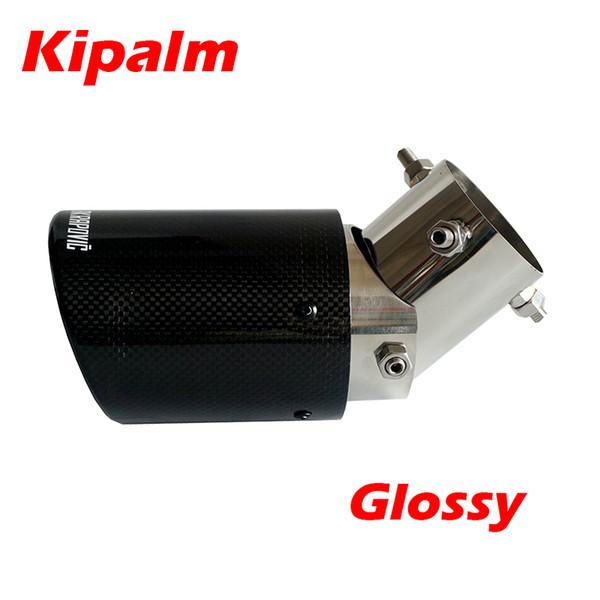 KIMISS D/Échappement Silencieux,Druable Tuyau d/'Echappement Embout pour 63mm 89mm