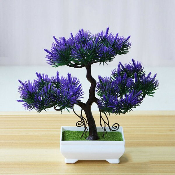 Top Selling Artificial Bonsai Simulation Potted Plant Mini Pine Tree Home Office Decoration For Home Diy Tools Parts