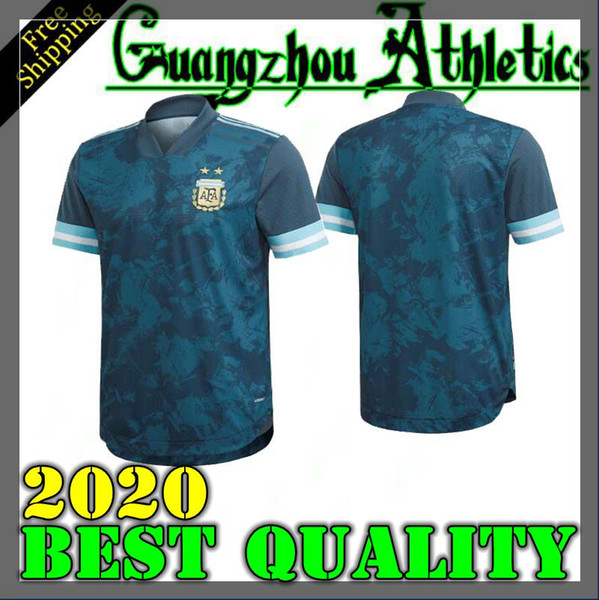 Copa America 2020 ARGENTINA SOCCER JERSEYS HOME away messi HIGUAIN AWAY ICARDI KUN AGUERO 20 21 camisetas MARADONA FOOTBALL SHIRTS