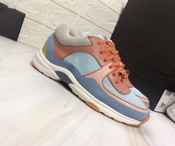 2019 Moda Paris 18FW Triplo-S Sapatilha Triplo S Casuais Luxo Pai Sapatos de Grife para Mulheres Dos Homens de Tênis Preto Sapato jds18121203