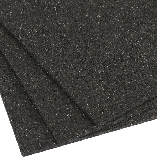 Soundlproof Carpet Convenient cutting damping soundproof pad for building ground damping felt Soundlproof Carpet Underlayment Rubber Shock Damping Mat For Disco