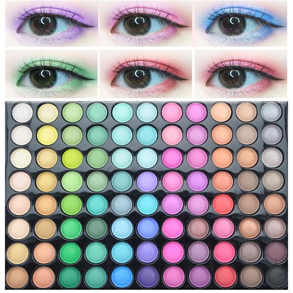 2019 Palettes Cosmetics Eyeshadow Palette 2 Makeup Powder Cosmetic Brush  Kit Box With Mirror Women Beauty Natural Eye Makeup Eye Makeup For Brown