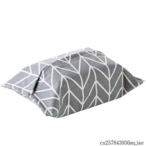 200pcs Cotton Tissue Box Linen Napkin Holder Towel Paper Storage Bag Organizer Table Car Home Decoration
