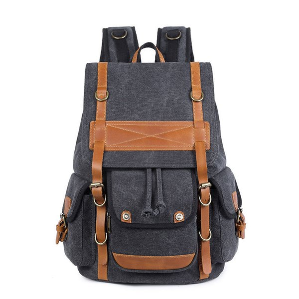 New Brand Design Large Capacity Men Backpack Travel Multifunctional Bags Fashion Male Backpacks Korean Style School Bag 282