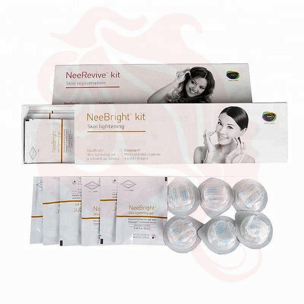 Facial machine using kit Kit de Tratamento da Acne Consumíveis / kit de clareamento e anti-envelhecimento / Nee Revive / Nee Bright