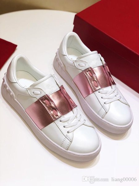 2019 latest graffiti white shoes outdoor comfortable ladies casual shoes flat sneakers men Zapatos walking shoes jt190612